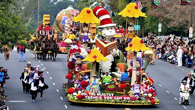 Pasadena Rose Parade 2019